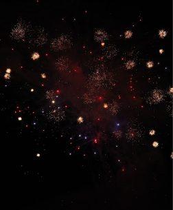 Kérantérec Campsite: Fireworks