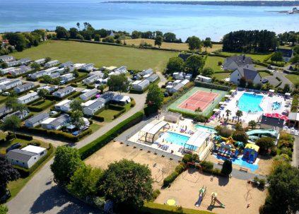 Camping De Kérantérec : Camping Keranterec Drone 2